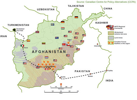 turkmenistan afghanistan pakistan india agree to support tapi pipeline - Tapi